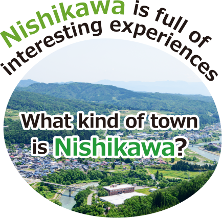 Nishikawa is full of interesting experiences What kind of town is Nishikawa?